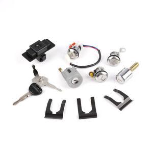 For Mitsubishi Pajero Shogun Montero MK2 2nd V32 4G54 Lock Cylinder & Key Set