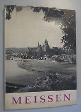 Meissen -ein sehr schöner alter Bildband 1957 von Hans-Joachim Mrusek