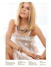 Publicité 2013  GAS bijoux haute couture joaillier bague collier bracelet mode
