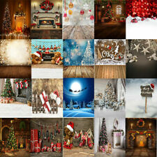 3x5/5x7ft  Xmas Seamless Backgrounds Christmas Tree Gifts Photography Backdrops