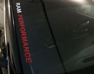 RAM PERFORMANCE  Windshield Decal FITS:  Dodge RAM 1500 2500 3500 Pickup Truck