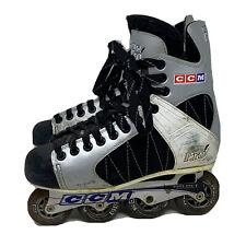 New listing Ccm Ultra Pro Sz 9 Adult Vintage Inline Roller Blades Street Hockey Skates Retro