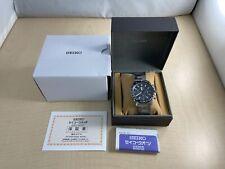SEIKO watch chronograph reverse import overseas model SSB 031PC Men's