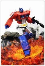 New MS-TOYS MS-B18X MSB18X mini Optimus prime Transformer Metallic Ver.Toy