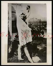 RARE 1928 RITA HAYWORTH CANSINO  CHILD PHOTO 1O YRS OLD NEWS PHOTO HOLLYWOOD