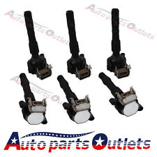 IGNITION COIL Coils 6 PCS For BMW E46 E39 X5 E36 325 330 328 M3 2.3 2.5 2.8 3.0