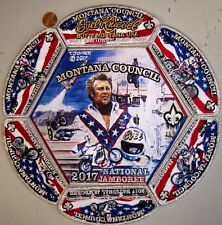 MONTANA COUNCIL MT OA 300 APOXKY AIO 2017 JAMBOREE 7-PATCH EVEL KNIEVEL 250 MADE