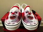 Vans Classic Slip-On Terror IT Pennywise VN0A5AO85DB Size 5-13 100% Authentic