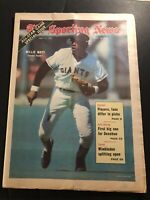 1971 Sporting News SAN FRANCISCO Giants WILLIE MAYS No Label ALL STAR GAME ISSUE
