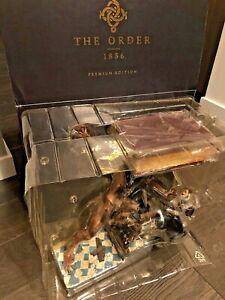 The Order 1886 - Premium Collector's Edition - PS4 - Complete - Statue SteelBook