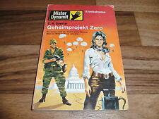 C.H. Guenter -- MISTER DYNAMIT  # 381  // GEHEIMPROJEKT ZERO // Pabel 1971