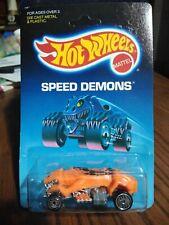 1986 Hot Wheels Speed Demons Cargoyle 2058  Unpunched Card