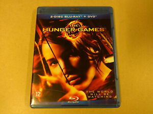 2-DISC BLU-RAY + DVD / THE HUNGER GAMES