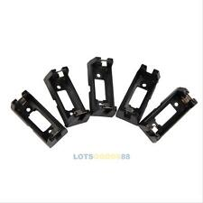 5Pcs Soldering Black Lithium Battery Holder Box Clip Case Cell for CR123A