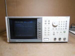 HP 8757D SCALAR NETWORK ANALYZER