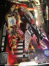 Mega Bloks Halo NMPD Pelican Air Base Set #38761 New Sealed Box Wear Box