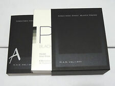 NEW Nobuyoshi Araki Impossible Black Frame Book Film Bundle RARE PX600 B/W Photo