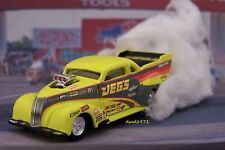 JEGS DRAG RACING 1937 37 CHEVY NITRO COUPE 1/64 SCALE DIORAMA MODEL COLLECTIBLE