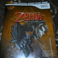 Legend of Zelda Twilight Princess guide (Nintendo)