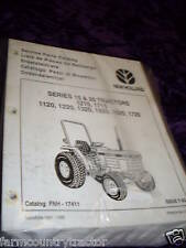 New Holland 15 & 20 Series Tractor Parts Manual