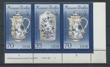 DDR W Zd 794 DV Nr. 3241/44 DRUCKVERMERK 1 ** MEISSENER PORZELLAN m443