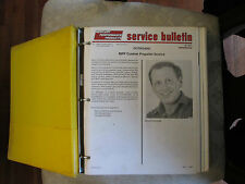 Mercury Performance Products Service Bulletins Water & Electric Diagrams 1989-90