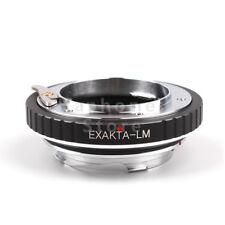 Camera Adapter For Exakta EXA  Lens To Leica M M9 MP Typ262 Ricoh GXR-M A12