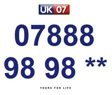 07888 98 98 **  - Gold Easy Memorable Business Platinum VIP UK Mobile Numbers