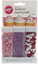 Princess Sprinkle Set 3 types from Wilton #1085 - NEW