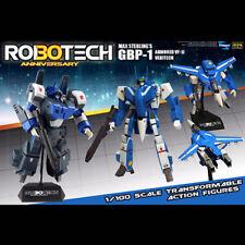 Robotech Figures: 30th Anniversary 1/100 GBP-1 HAT Max Sterling GBP-1J Veritech*