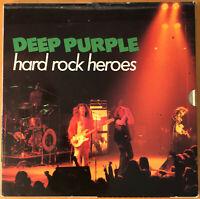 DEEP PURPLE - HARD ROCK HEROES  HARVEST FRENCH 3LP BOX SET. 3  RARE EXCELLENT