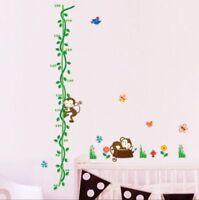 Messlatte Affe Kinderzimmer Wandtattoo Wandbild Kind Wandsticker  #133