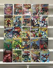 Amazing Spider-man  Marvel  25 Lot Comic Book Comics Set Run Collection Box1