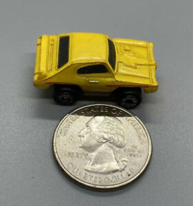 Micro Machines '68 Pontiac GTO Variation 2 Yellow/Red, 1994 LGTI