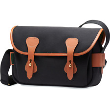 Billingham S3 Shoulder Bag - Black/Tan
