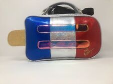 Betsey Johnson POPSICLE Red White Blue Insulated Lunch Tote Bag Crossbody NWT