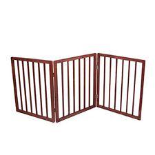 Folding Pet Dog Gate Z Design No Wall Attachments