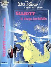 ELLIOT IL DRAGO INVISIBILE - VHS PRIMA STAMPA DISNEY, COME NUOVA, RARISSIMAA!