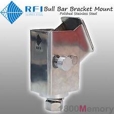 RFI Folding Bull Bar Antenna Bracket Mount Polish CDQ7197 CD7197 CDQ2197 CD2197