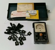 Vintage Trace-O-Meter Wire Tracing Test Equipment Kit - Vintage Electronic Decor