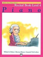 Alfred's Basic Piano Recital Book, Level 4