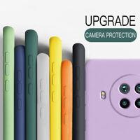 Funda de silicona líquida para Xiaomi Mi Poco X3 NFC 10T Lite Redmi 9A Note 9 8