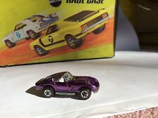 Vintage Johnny Lightning Topper Custom Ferrari Purple w / white interior