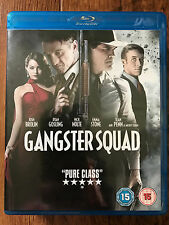 Sean Penn Ryan Gosling GANGSTER SQUAD ~ 2013 Noir / Crime Thriller UK Blu-ray