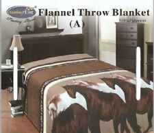 Modern Horse Blanket Bedding Throw Fleece King Super Soft Stylish
