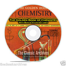 The Golden Book of Chemistry Experiments, with Bonus Kids Projects on Cd C02