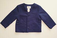 Florence Eisman Toddler Boys Textured Navy Jacket 24 Months