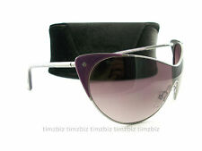 New Tom Ford Sunglasses TF364 Vanda 80Z Purple Gunmetal FT0364/S Authentic