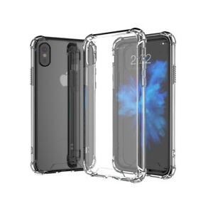 For iPhone 12 11 XR XS 8 7 6 5 + Pro Max Clear HARD Back Case Soft Bumper Cover