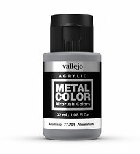 Vallejo Metal Colores-Aerógrafo Pintura-Aluminio 32ml - 77.701